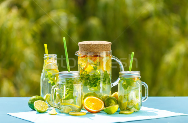 Healthy detox water  Stock photo © grafvision