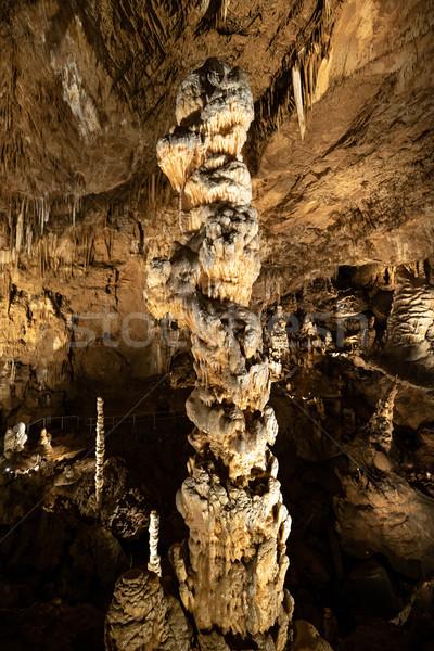 Stalactites and stalagmites  Stock photo © grafvision