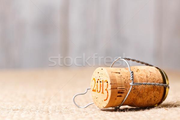 Champagne cork Stock photo © grafvision