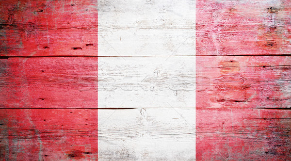 Stock photo: Flag of Peru