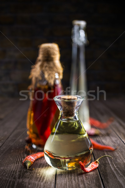 Salad dressing oil Stock photo © grafvision