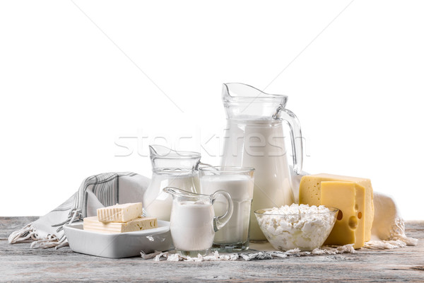 Fresh dairy products  Stock photo © grafvision