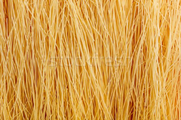 Pasta Italiaans rauw voedsel achtergrond patroon Stockfoto © grafvision