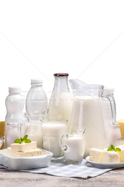 Set from dairy products Stock photo © grafvision