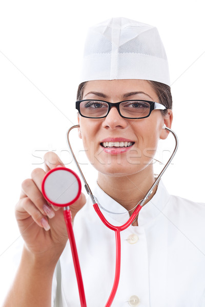 Attractive woman doctor Stock photo © grafvision
