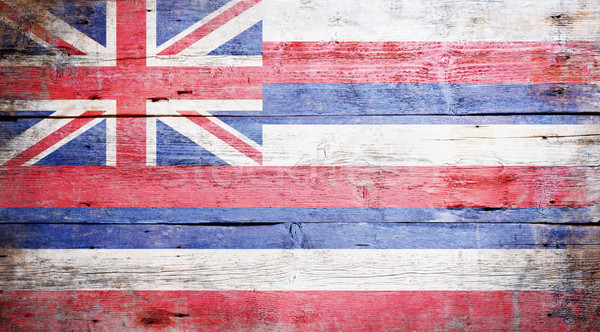 Flag of the state of Hawaii Stock photo © grafvision