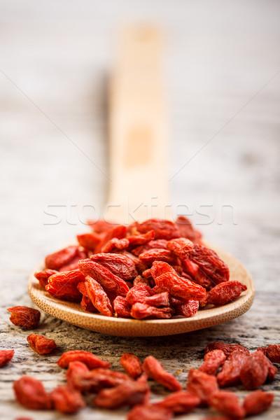 Dried goji berries Stock photo © grafvision