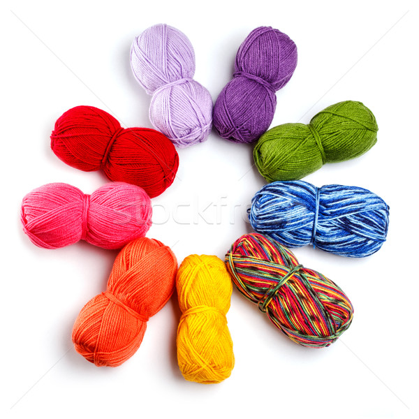 Wool yarn Stock photo © grafvision