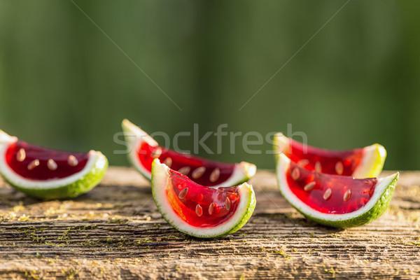 текила идеальный вечеринка десерта извести арбуза Сток-фото © grafvision