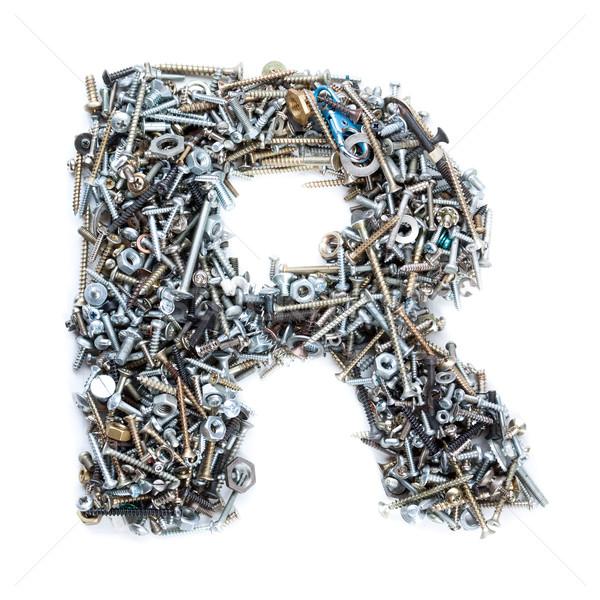 screws alphabet Stock photo © grafvision