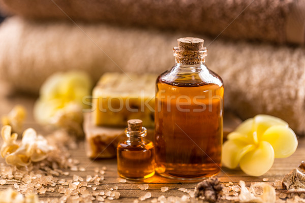 Essential aroma oil Stock photo © grafvision