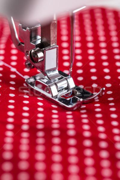 швейные машины ногу моде дизайна промышленности швейных Сток-фото © grafvision