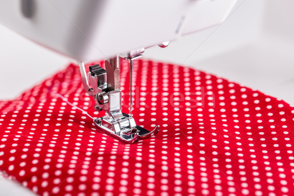 Sewing machine working part Stock photo © grafvision