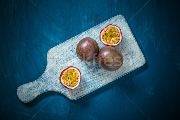 Half cut passion fruit  Stock photo © grafvision