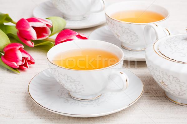 Tea set Stock photo © grafvision
