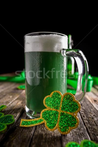ストックフォト: 聖パトリックの日 · 休日 · お祝い · ラッキー · パーティ · 緑