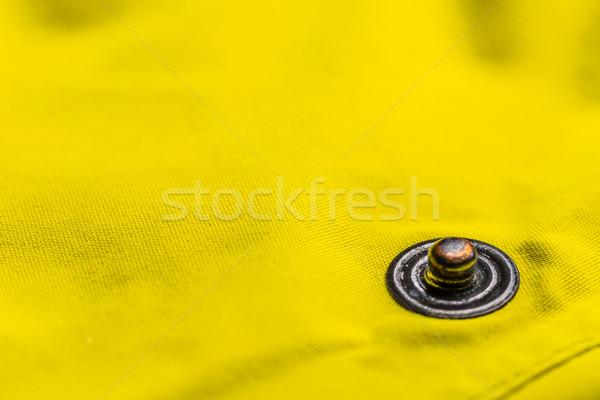 Button clasp Stock photo © grafvision