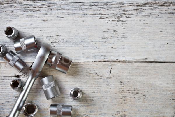 Socket wrench Stock photo © grafvision