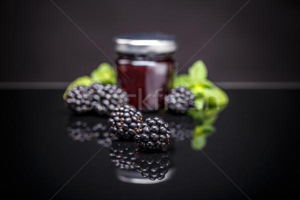 Homemade fruit jam Stock photo © grafvision
