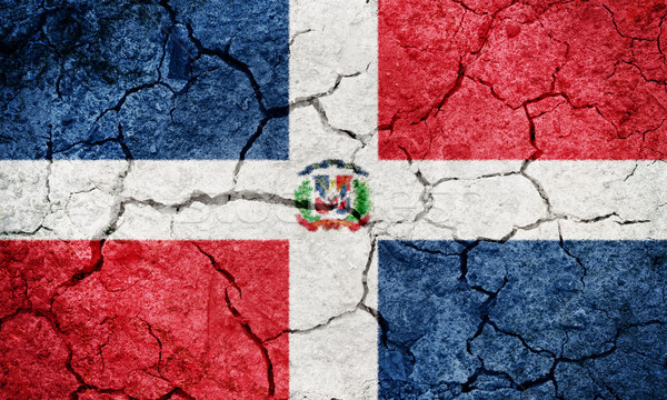 Dominican Republic flag Stock photo © grafvision