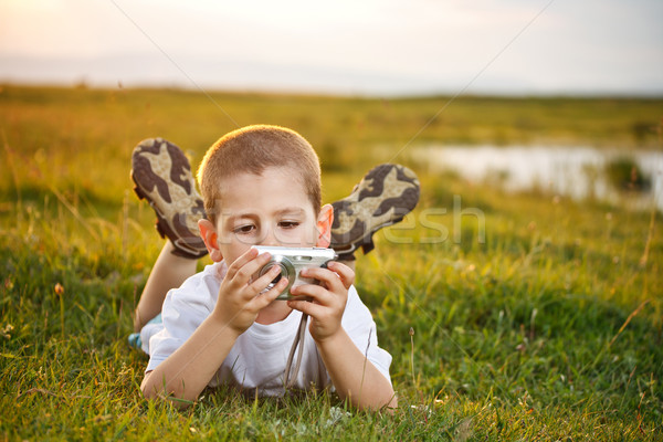 Stock photo: Preschooler boy