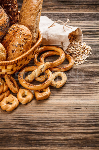 Crunchy fresh bun Stock photo © grafvision
