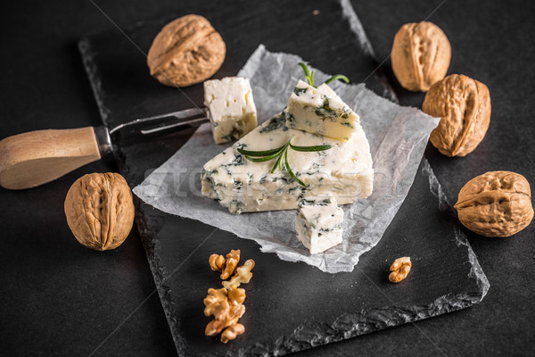 Italian gorgonzola Stock photo © grafvision