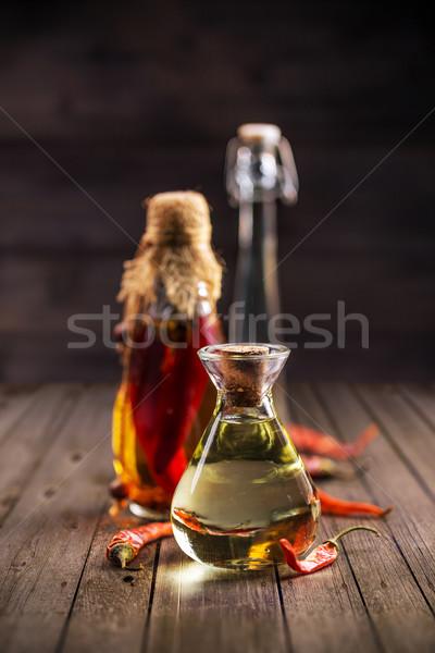 Baharatlı yağlar otlar baharatlar farklı Stok fotoğraf © grafvision