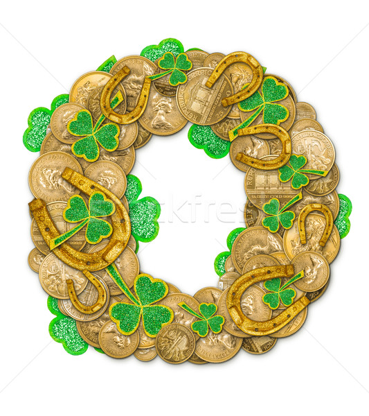 St. Patricks Day holiday letter O Stock photo © grafvision