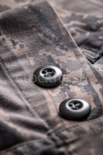 Shirt with camouflage pattern Stock photo © grafvision