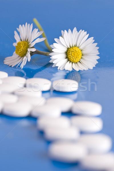 Homeopáticos saúde ciência pílula Foto stock © grafvision