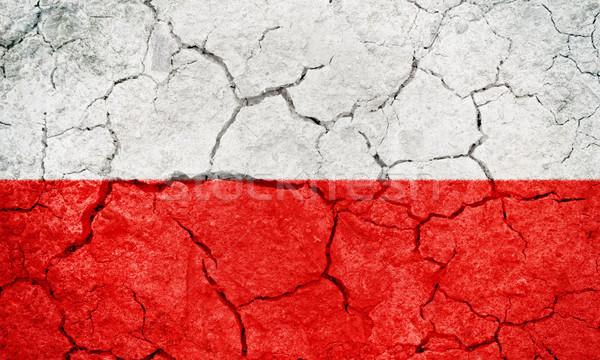 Upper Austria, Austrian state flag Stock photo © grafvision