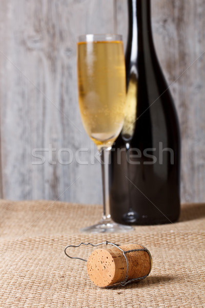 Stock photo: Champagne