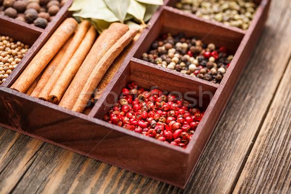 Peppercorns Stock photo © grafvision