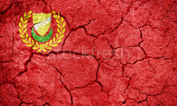 Kedah, Malaysian state, flag Stock photo © grafvision