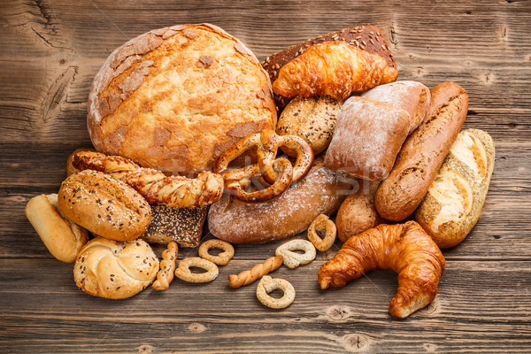 Large variety of baked goods  Stock photo © grafvision