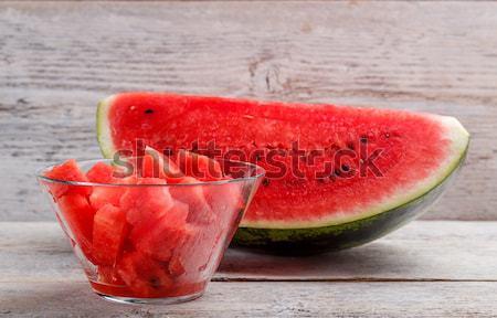 Slices of watermelon Stock photo © grafvision
