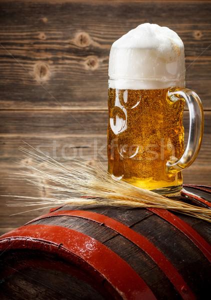 Beer in the mug Stock photo © grafvision