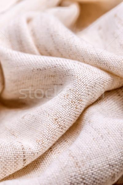 Doku tuval kumaş soyut dizayn model Stok fotoğraf © grafvision