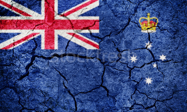 Victoria (Australia) flag Stock photo © grafvision