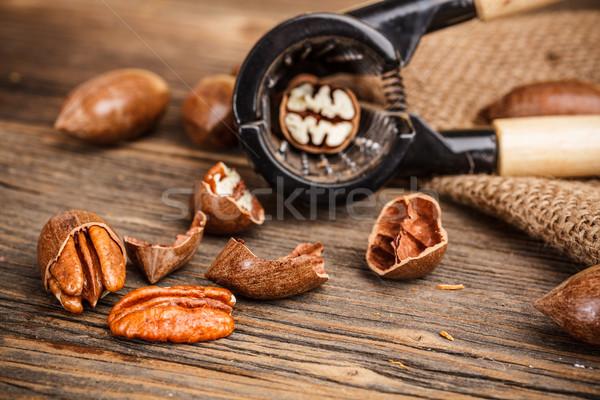 Pecan nut Stock photo © grafvision
