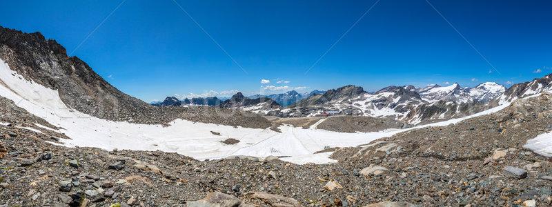 Landscape at Molltaler Glacier Stock photo © grafvision