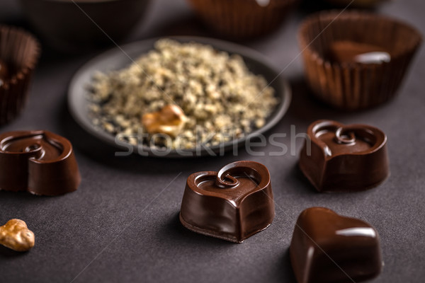 Chocolate sweets Stock photo © grafvision