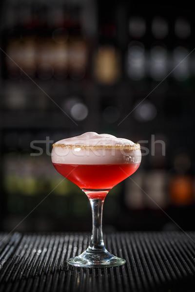 Refreshing alcoholic cocktail Stock photo © grafvision