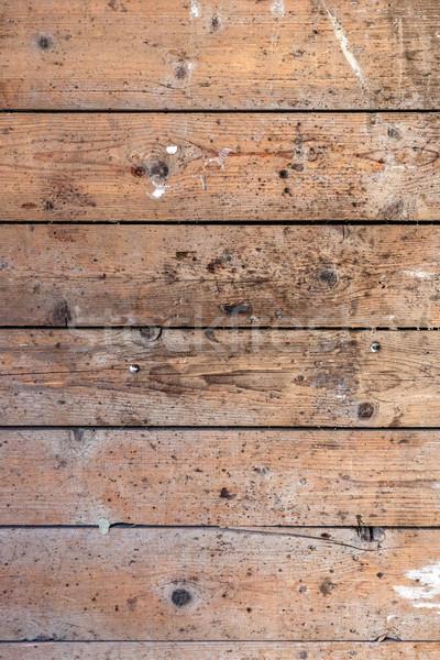 деревенский выветрившийся сарай древесины ногтя текстуры Сток-фото © grafvision