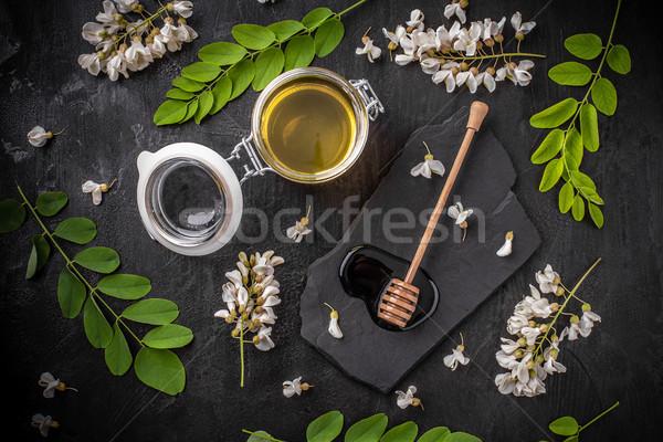 Acacia honey  Stock photo © grafvision