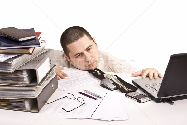man in a office  Stock photo © grafvision