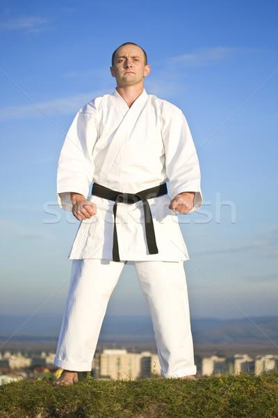 Karate outdoor Stock photo © grafvision