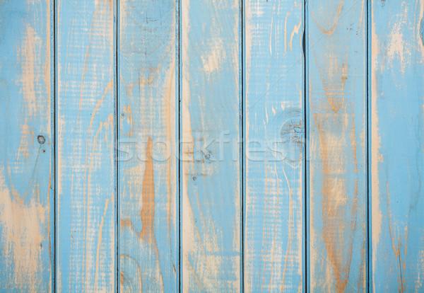 Stock photo: Shabby wood background