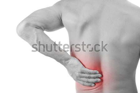 man with back pain Stock photo © grafvision